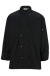 Edwards 3301 10 Pearl Button Chef Coat