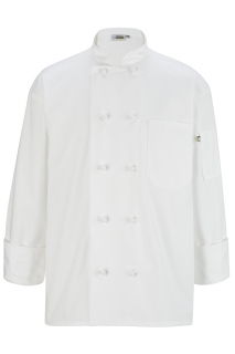 Edwards 3302 Edwards 10 Knot Button Long Sleeve Chef Coat