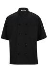 Edwards 3306 10 Button Short Sleeve Chef Coat