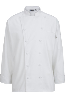 Edwards 3318 Edwards 12 Cloth Button Classic Chef Coat