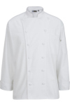Edwards 3318 Edwards 12 Cloth Button Classic Chef Coat