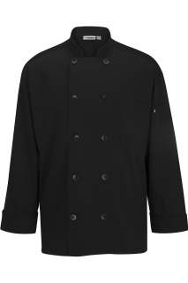 Edwards 3363 Edwards 10 Button Chef Coat With Mesh