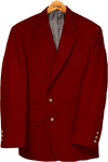 Edwards Mens Single-Breasted Blazer
