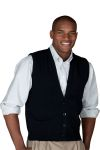 Edwards 352 Men's Button Front Vest With No Pockets