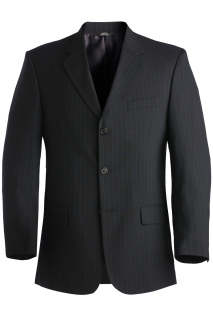 Edwards 3660 Edwards Men's Pinstripe Suit Coat