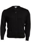 Edwards 381 Edwards Full-Zip Acrylic Sweater