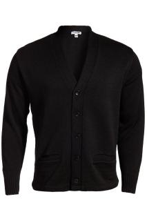 Edwards 383 Edwards V-Neck Button Heavyweight Acrylic Sweater