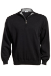 Edwards 4012 Edwards Quarter-Zip Acrylic Sweater