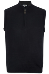 Edwards 4052 Edwards Quarter-Zip Acrylic Sweater Vest
