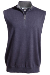 Edwards 4074 Edwards Quarter Zip Fine Gauge Sweater Vest
