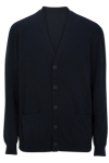 Edwards 4080 Edwards V-Neck Cotton Blend Cardigan-2pockets
