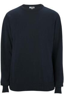 Edwards 4086 Edwards Crew Neck Cotton Blend Sweater