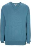 Edwards 4090 Edwards V-Neck Cotton Blend Sweater