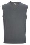 Edwards 4092 Edwards V-Neck Cotton Blend Sweater Vest