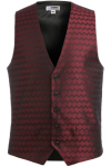 Edwards 4391 Men's Swirl Brocade Vest
