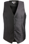 Edwards 4396 Edwards Men's Grid Brocade Vest
