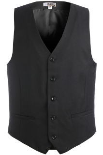Edwards 4525 Edwards Men's Synergy Washable High-Button Vest