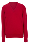 Edwards 4700 Edwards V-Neck Cotton Sweater