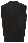 Edwards 4701 Edwards V-Neck Cotton Sweater Vest