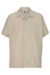 Edwards 4889 Edwards Men's Zip-Front Service Shirt