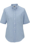 Edwards 5027 Edwards Ladies' Short Sleeve Oxford Shirt