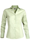 Edwards 5034 Women's Long Sleeve V-Neck Tailored Stretch Blouse