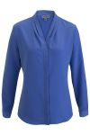 Edwards 5271 Edwards Ladies' V-Neck Long Sleeve Blouse