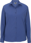 Edwards 5273 Edwards Ladies' Lightweight Long Sleeve Poplin Blouse