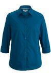 Edwards 5317 Edwards Ladies' 3/4 Sleeve Stretch Broadcloth Shirt