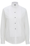 Edwards 5390 Edwards Ladies' Wing Collar Tuxedo Shirt