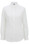 Edwards 5392 Women's Batiste Banded Collar Shirt