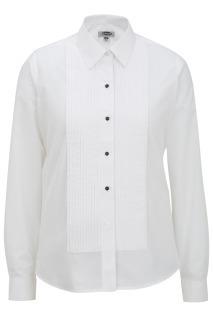 Edwards 5393 Edwards Ladies' Point Collar Tuxedo Shirt