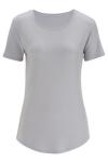 Edwards 5420 Edwards Ladies' Drop-Neck Short Sleeve Knit Top