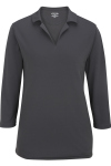 Edwards 5581 Edwards Ladies' Performance Flat-Knit 3/4 Sleeve Polo