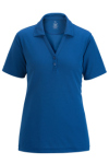 Edwards 5583 Edwards Dry Mesh Hi-Performance Polo With Johnny Collar - Ladies