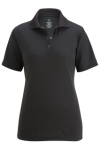 Edwards 5586 Edwards Ladies' Snap Front Hi-Performance Short Sleeve Polo