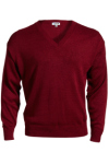 Edwards 565 Edwards V-Neck Acrylic Sweater