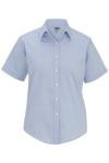 Edwards 5925 Edwards Ladies' Pinpoint Oxford Shirt - Short Sleeve