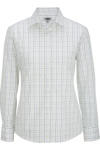 Edwards 5973 Edwards Women's Long Sleeve Patterned Dress Shirt