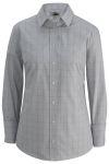 Edwards 5993 Edwards Ladies' Redwood & Ross Houndstooth Window Pane Dress Shirt