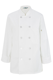 Edwards 6301 Edwards Ladies' 10 Button Long Sleeve Chef Coat