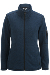 Edwards 6460 Edwards Ladies' Sweater Knit Fleece Jacket