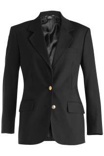 Edwards 6830 Edwards Ladies' Hopsack Blazer