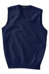 Edwards 701 Men's Cotton Cashmere V-Neck Vest