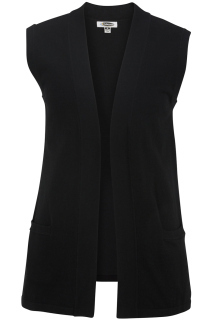Edwards 7026 Edwards Ladies' Open Cardigan Sweater Vest