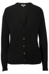 Edwards 7045 Edwards Ladies' V-Neck Cardigan Sweater-Tuff-Pil Plus