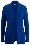 Edwards 7058 Edwards Ladies' Shawl Collar Cardigan Sweater