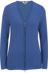 Edwards 7062 Edwards Ladies' Full Zip V-Neck Cardigan Sweater