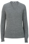 Edwards 7065 Edwards Ladies' V-Neck Sweater-Tuff-Pil Plus