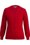 Edwards 7140 Edwards Ladies' Jewel Neck Cardigan